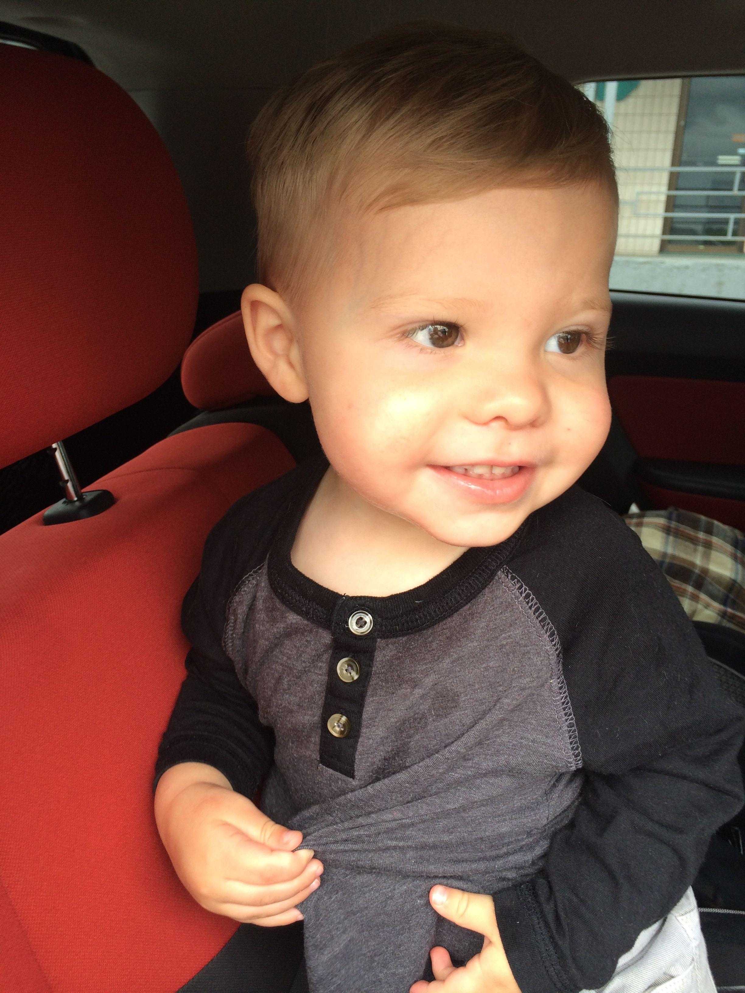 Liams New Stylin Big Boy Haircut Liam Pinterest