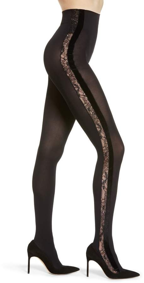 98d20cd04 Oroblu Mixed Media Opaque Tights in 2019