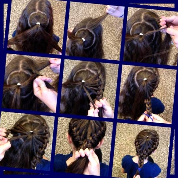 Swell Little Girl Hairstyles Hairstyles And Medium Hairs On Pinterest Hairstyles For Men Maxibearus