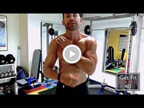 Human Trainer Shoulder Workout