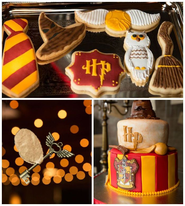 Harry Potter Birthday Party via Karas Party Ideas KarasPartyIdeas
