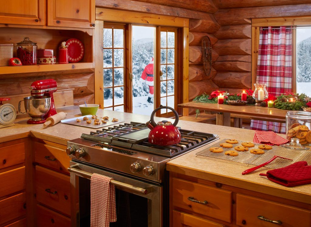 Peek inside where Santa lives and tour the Elf Village ...