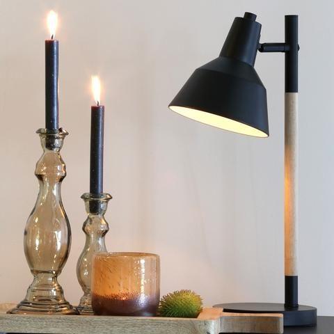 Nordic Black Metal Desk Lamp - The Farthing
