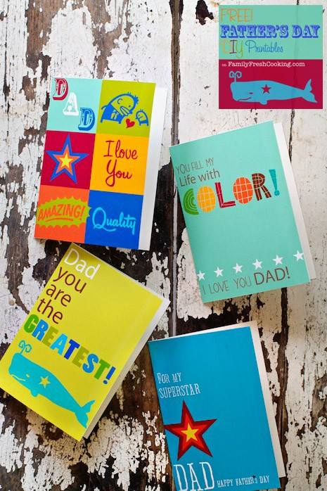 Photo of *Freebie* Father's Day Card Printables! – Marla Meridith