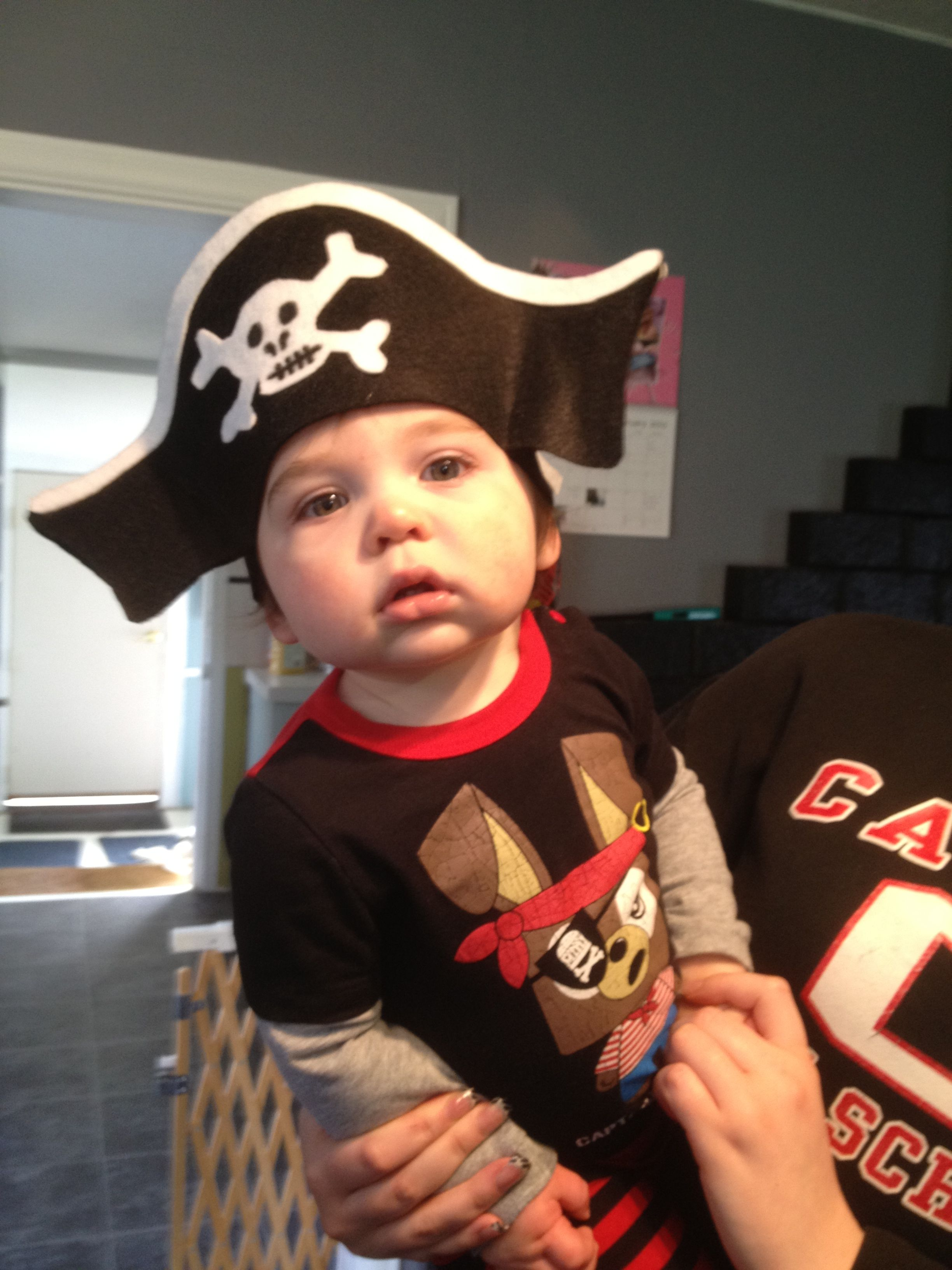 Pirate Hat For Birthday Boy Lincoln
