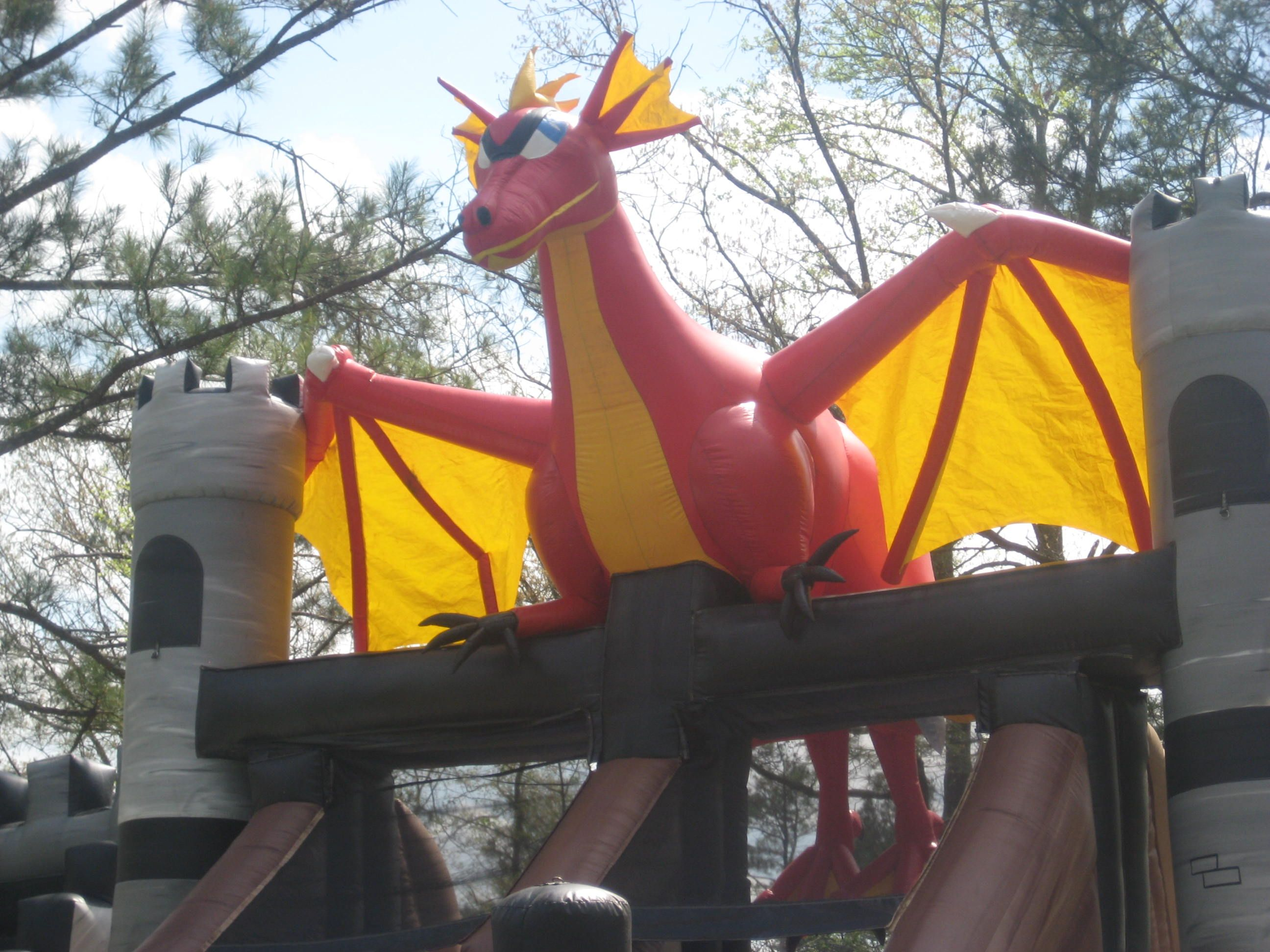 this is the top of an awesome 23 u0027 inflatable dragon themed dual