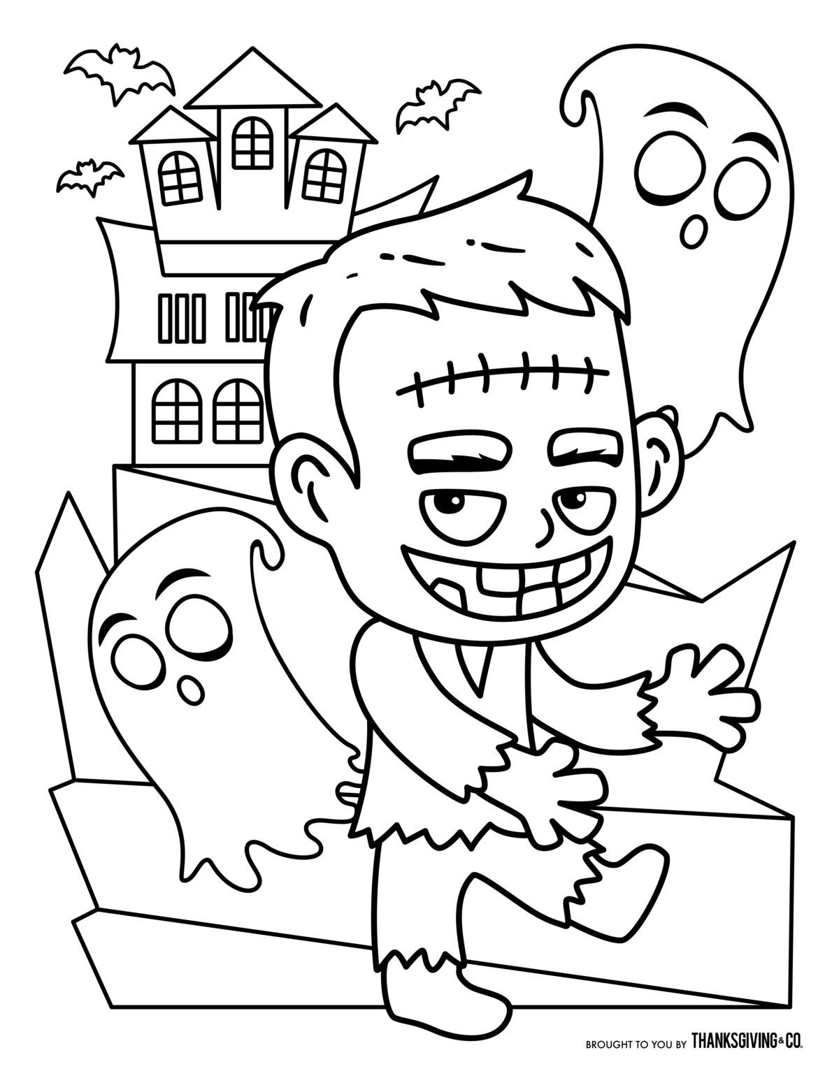 Free Halloween Coloring Pages For Kids Or For The Kid In You Free Halloween Coloring Pages Halloween Coloring Pages Halloween Coloring Pages Printable