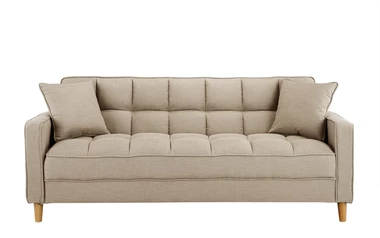 Alvina Contemporary Velvet Lounge Sofa Sofamania Com In 2020 Linen Sofa Sofa Victorian Style Sofas