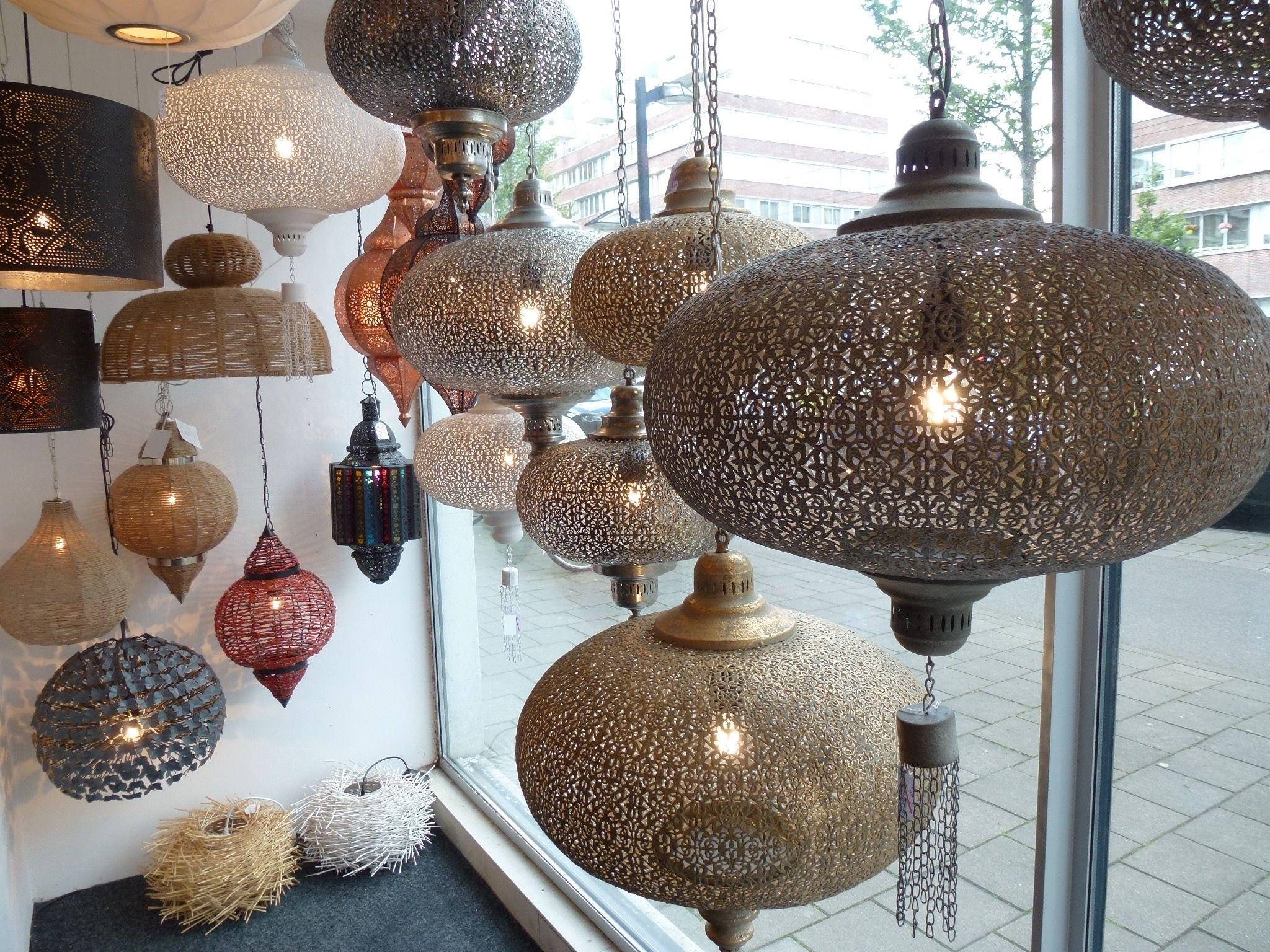 Oosterse Lampen Leenbakker : Mooie handgemaakte filigrain gaatjes lampen uit india egypte en