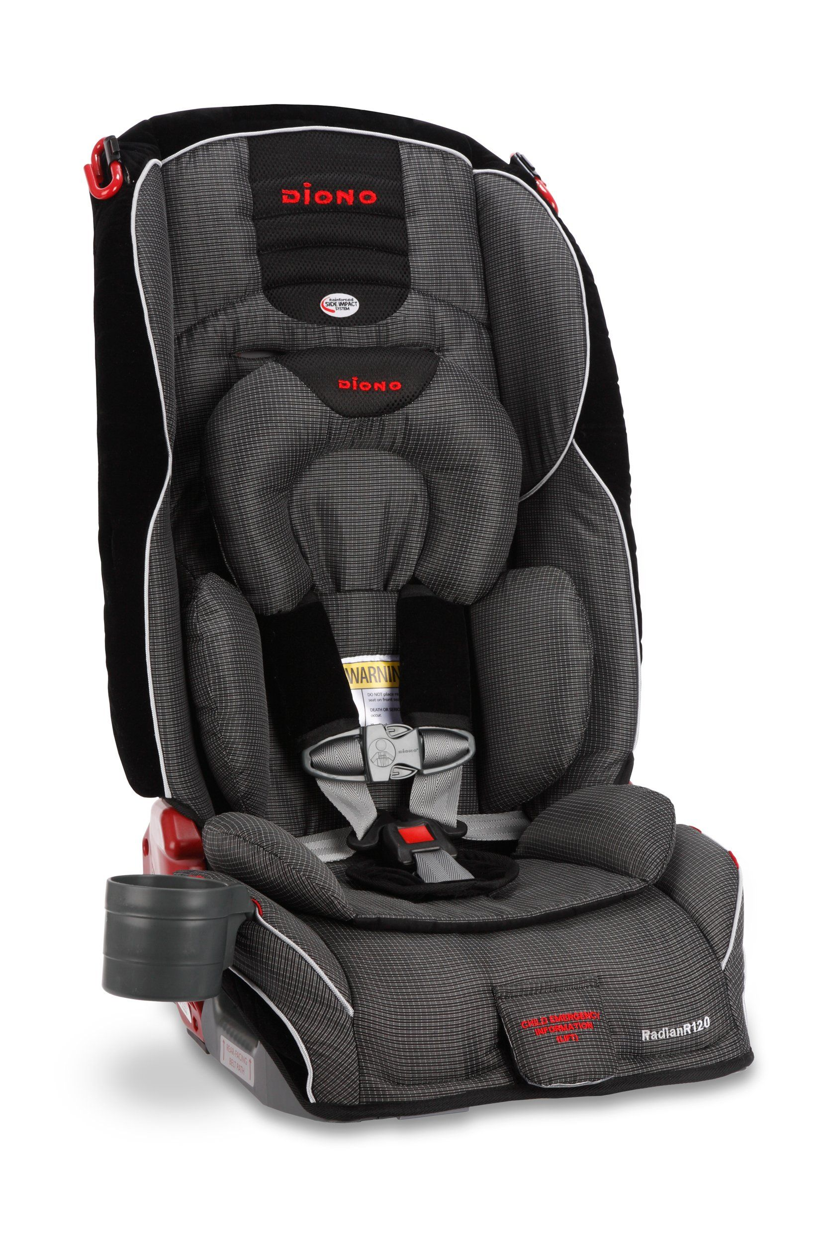 Diono Radian R120 Convertible Car Seat Plus Booster ...