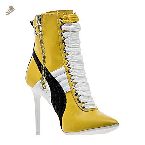 80d21a048c1 Puma x Fenty By Rihanna Women Sneaker Heels (yellow) - Puma sneakers for  women (*Amazon Partner-Link)