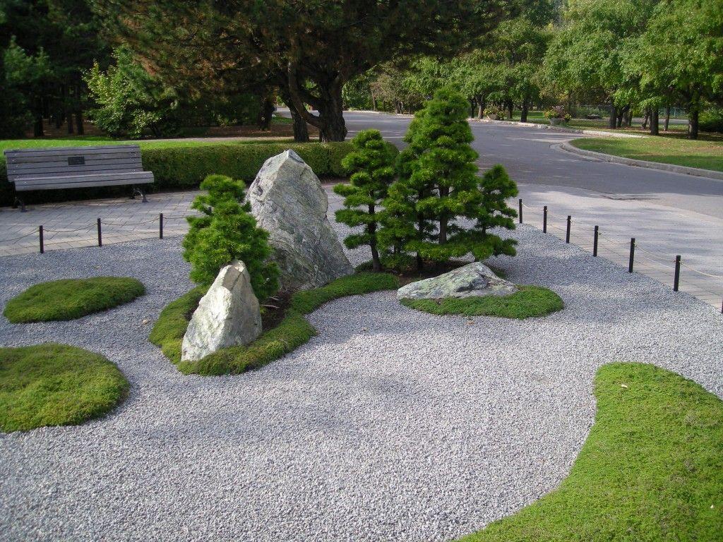 Gravier jardin simple gravier en ardoise pour jardin pour - Gravier jardin japonais ...