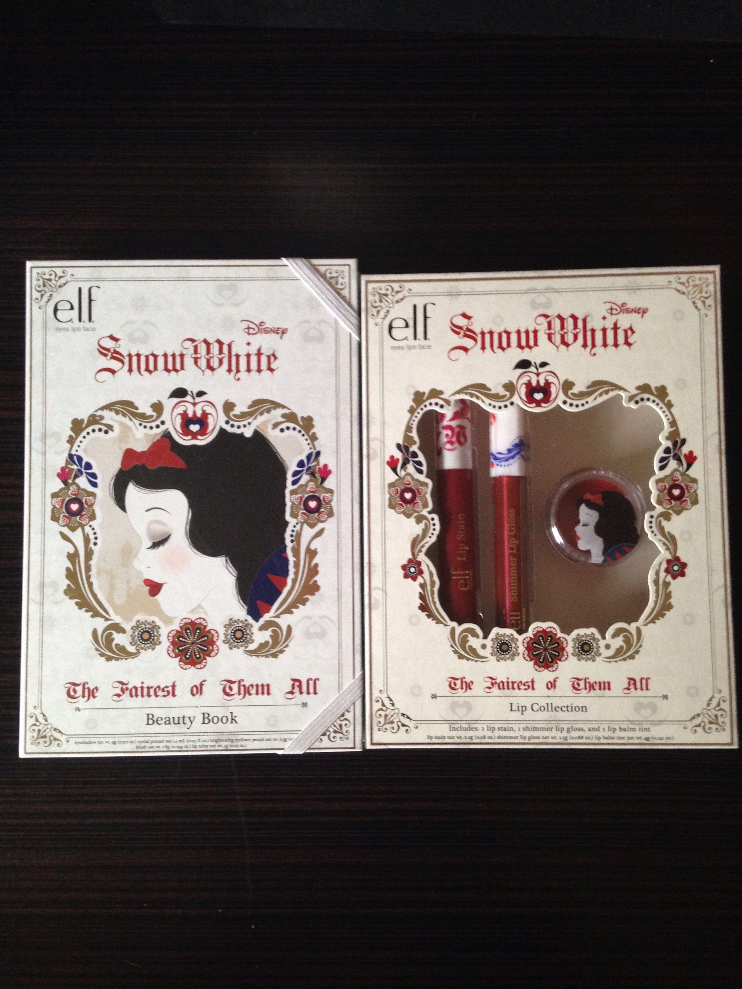 E.l.f. Disney's Snow White Collection