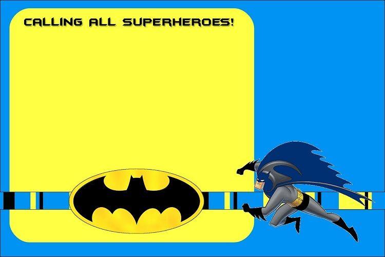 Batman Birthday Invitations Awesome Invitation Ideas Cards