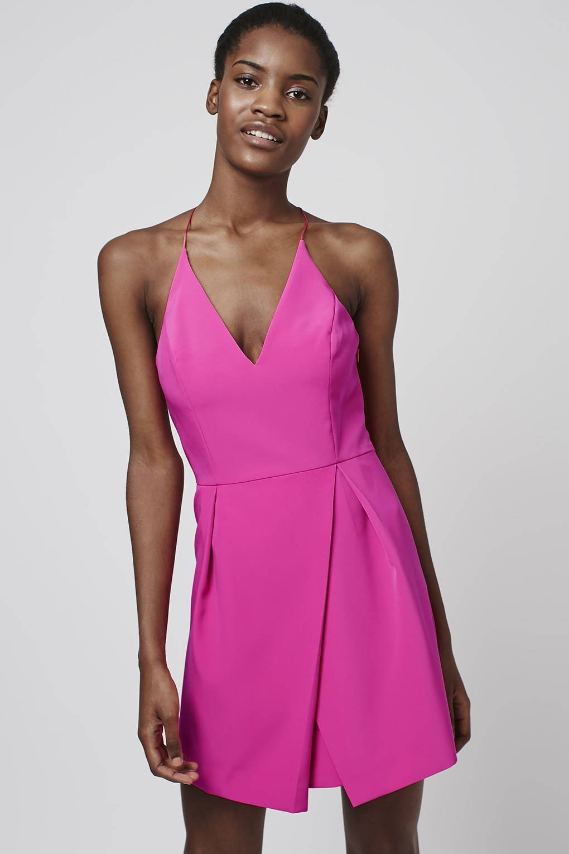 Strappy Bonded Mini Dress - New In Fashion - New In | Mini dresses ...