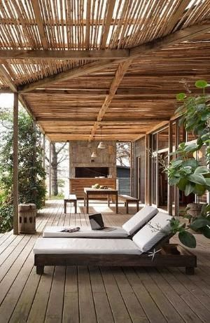 a stunning beach house pergola in punta del este, uruguay by the style files by MyohoDane