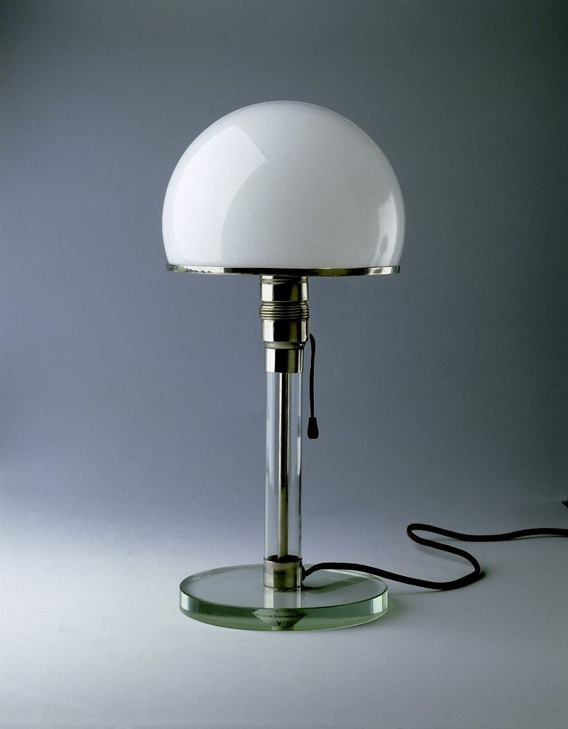 Wagenfeld Lampe Wilhelm Wagenfeld Design 1924 Based On Preliminary Design By
