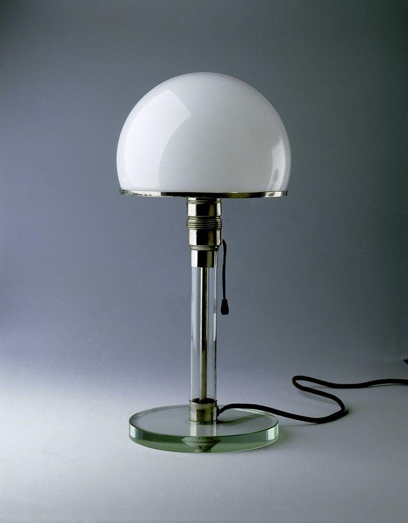 Wilhelm Wagenfeld Lampe   The Homey Design