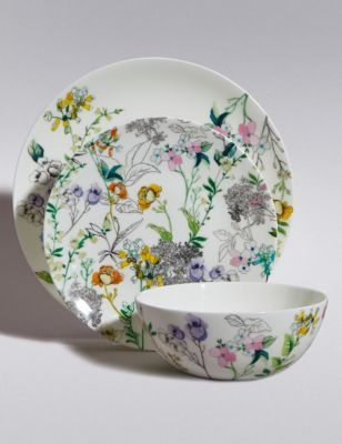 Spring Fl Crockery Set From M S