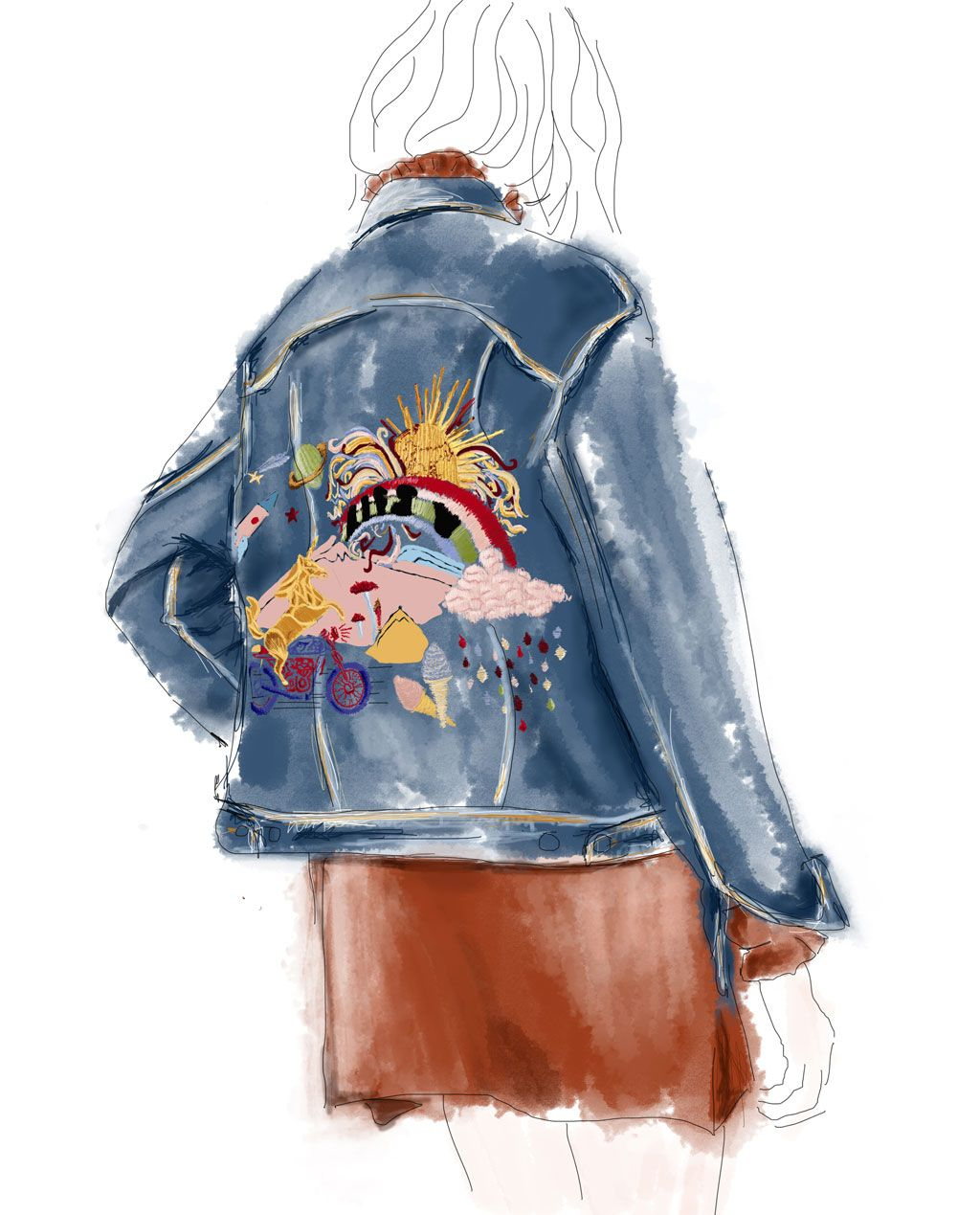 New In Woman Zara United States Fashion Illustration In 2018