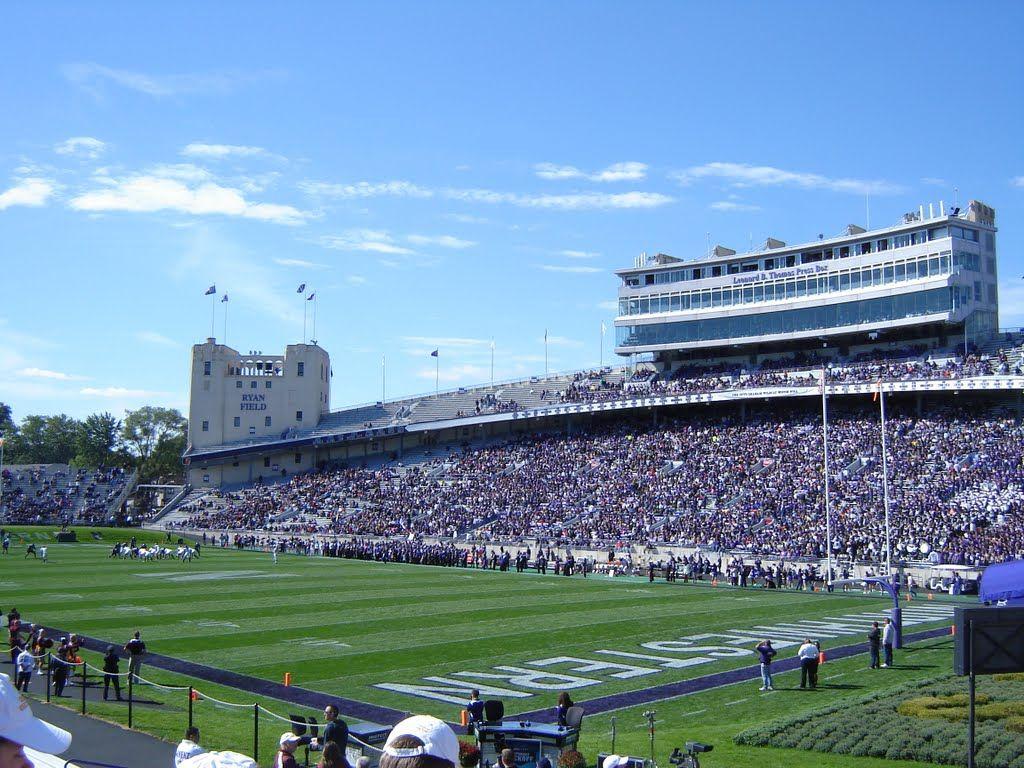 Panoramio Photo Of Ryan Field Northwestern University 9 25 10 Northwestern University Illinois Football Football Stadiums