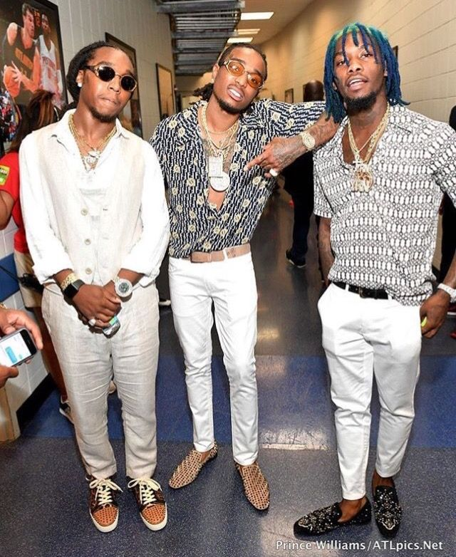 Pinterest: @cheetahgrljas93 Migos | migos | Rapper outfits