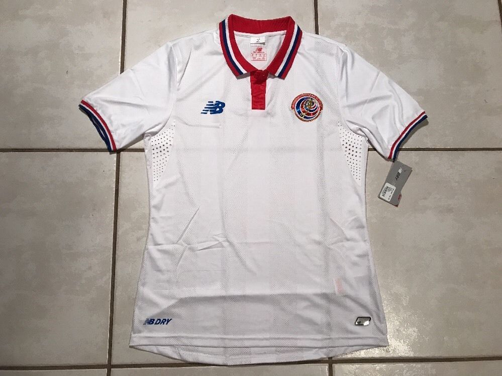 brand new b8546 b0c35 NWT NEW BALANCE Costa Rica National Team Away Soccer Jersey ...