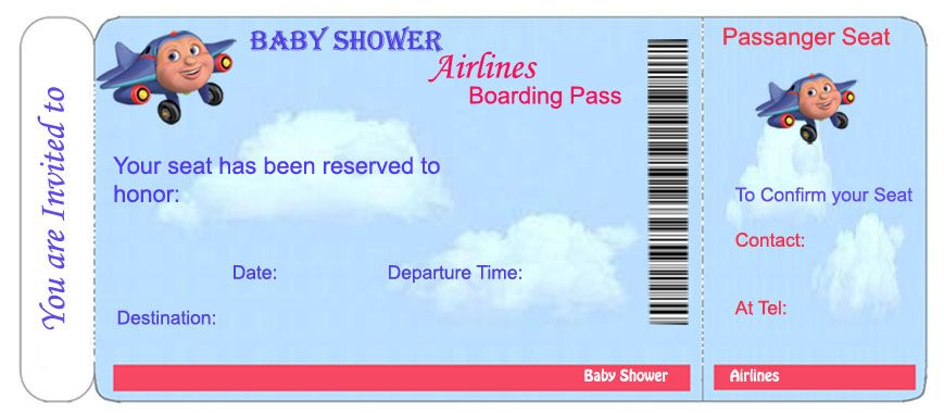 Baby Shower Invitations Templates for Boys Free Baby Shower