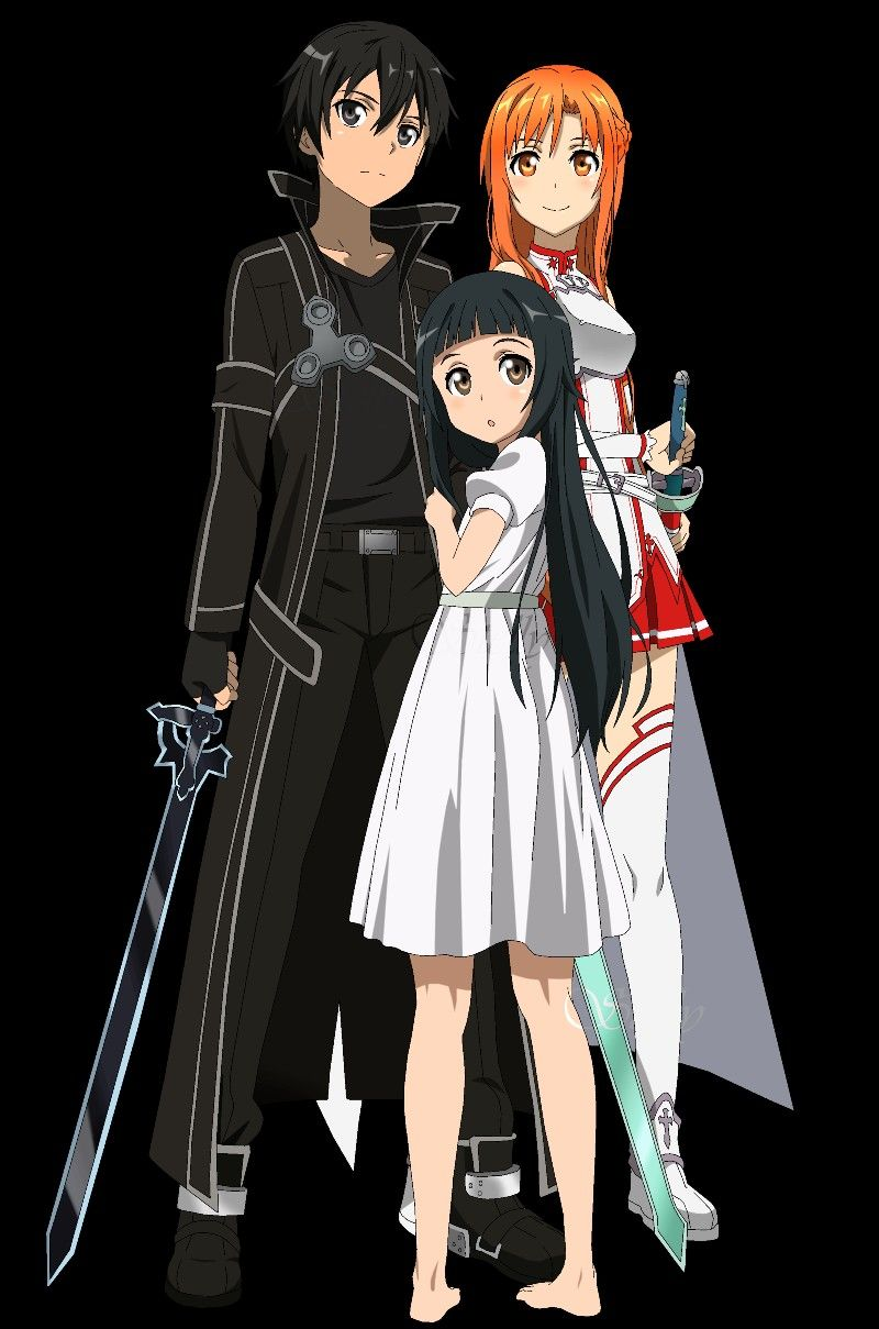 Pin by Cameron G. on Anime Character Sword art online