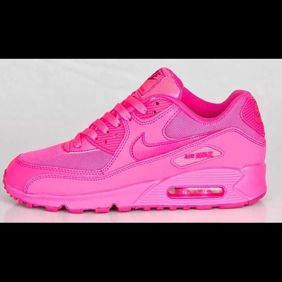 """finest selection 93059 bb3c9 NIKE AIR MAX 90 GS """"HYPER PINK"""" Looking for these ! Size 5.5 maybe 6 ! Good  condition please ! Nike Shoes Sneakers"""