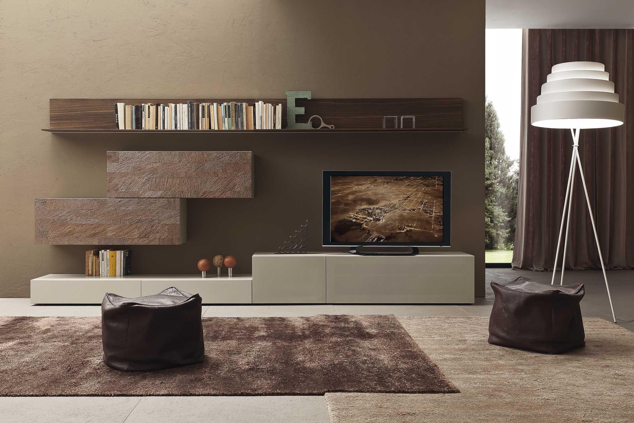 soggiorno componibile moderno pr i modulart 6 | idee soggiorno ... - Soggiorno Moderno