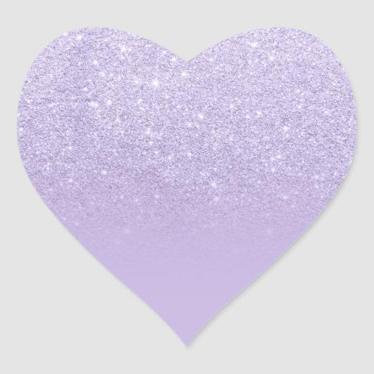 Purple Lavender Faux Glitter Ombre Thank You Classic Round Sticker Zazzle Com In 2021 Glitter Ombre Round Stickers Glitter Hearts