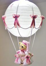 Hot air balloon lamp light shade for baby nursery with winnie the hot air balloon lamp light shade for baby nursery with winnie the pooh aloadofball Images