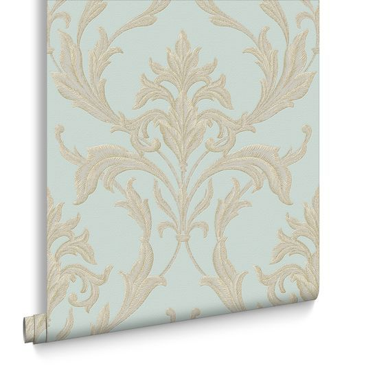 Oxford Teal And Gold Wallpaper Large Teal And Gold Wallpaper Gold Wallpaper Teal And Gold