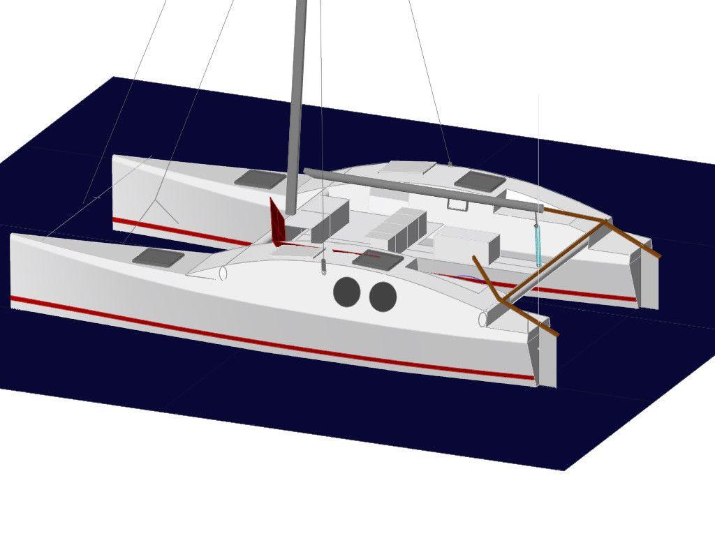 Catamaran Plans For Sale Building Wooden Diy Wooden Boat Plans