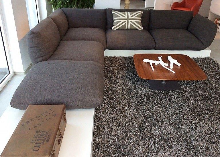sofas und couches jalis sofa eckgruppe auf lack podest: cor-möbel, Hause deko