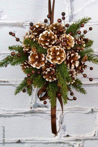49 Stunning Rustic Christmas Decoration