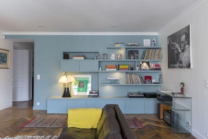 160 m paris 10e am nag et d cor par la d coratrice d int rieur vanessa faivre mes id es. Black Bedroom Furniture Sets. Home Design Ideas