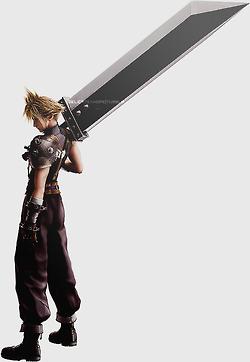 Buster Sword Theme Final Fantasy Vii Final Fantasy Cloud Strife