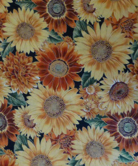 45++ Sunflower home decor fabric info