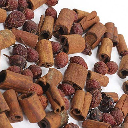 4 Cups of Fall Mixed Un-Scented Rosehips & Cinnamon Sticks Potpourri