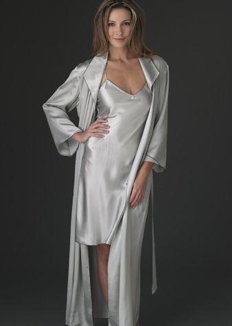 5c580e8f9adc Evening Stroll Silk Robe - Full Length Luxurious Robe in 2019 ...