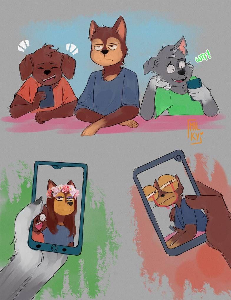 Filters By Milkymatsu02 On Deviantart Paw Patrol Cartoon Furry Art Furry Meme