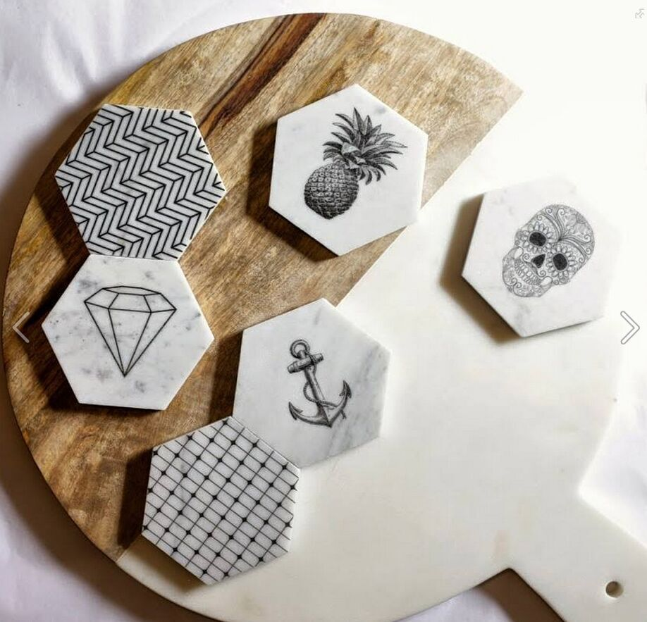 marble coasters | Marbles | Pinterest | Marble coasters, Coasters ...
