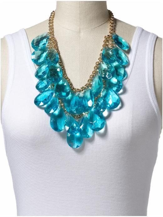"Kate Spade Cascade Bib Necklace 21"" length with 2"" extender - piperlime.gap.com"