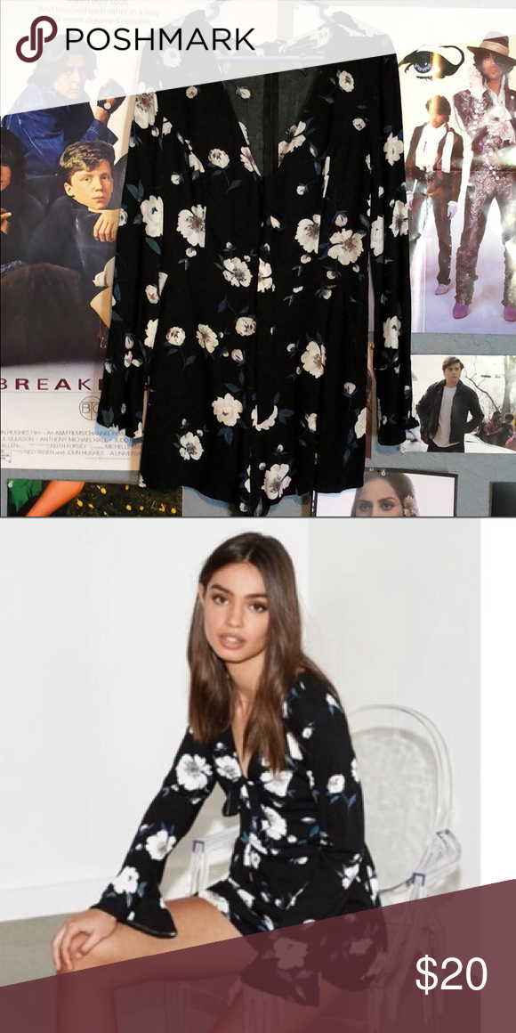 821987ce8795 Kendall and Kylie floral romper I wore this one a lot actually but I got  another