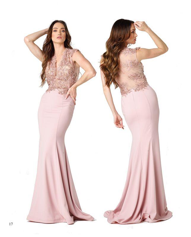 Las mejores telas para vestidos largos