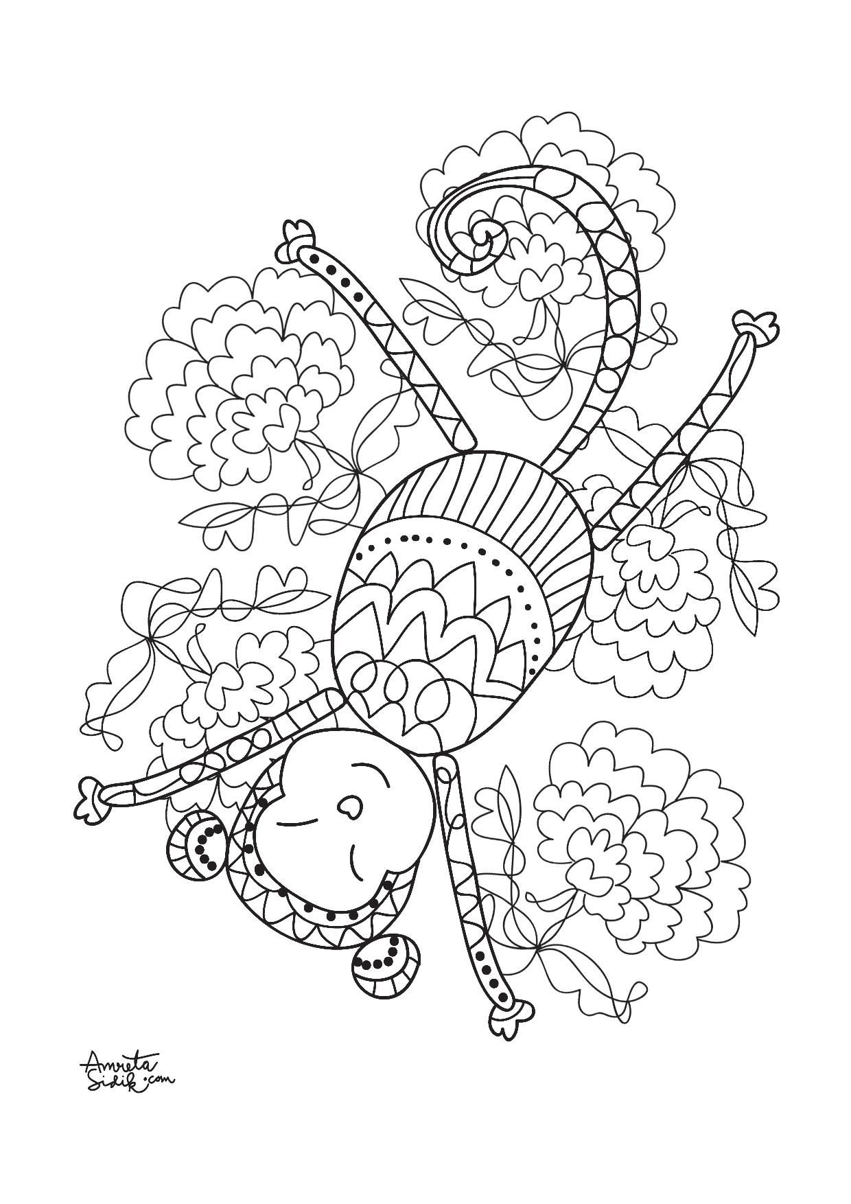 Pin On Adult Coloring Pages [ 1754 x 1240 Pixel ]