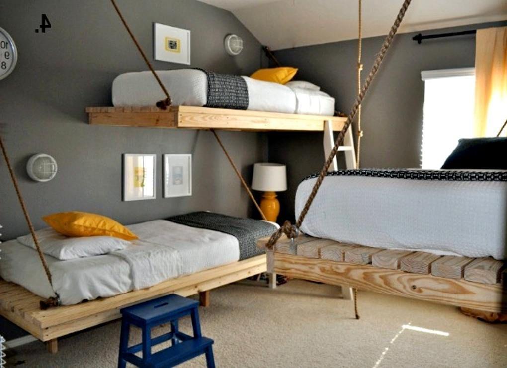 Afbeeldingsresultaat voor jongenskamer steigerhout slaapkamer mees