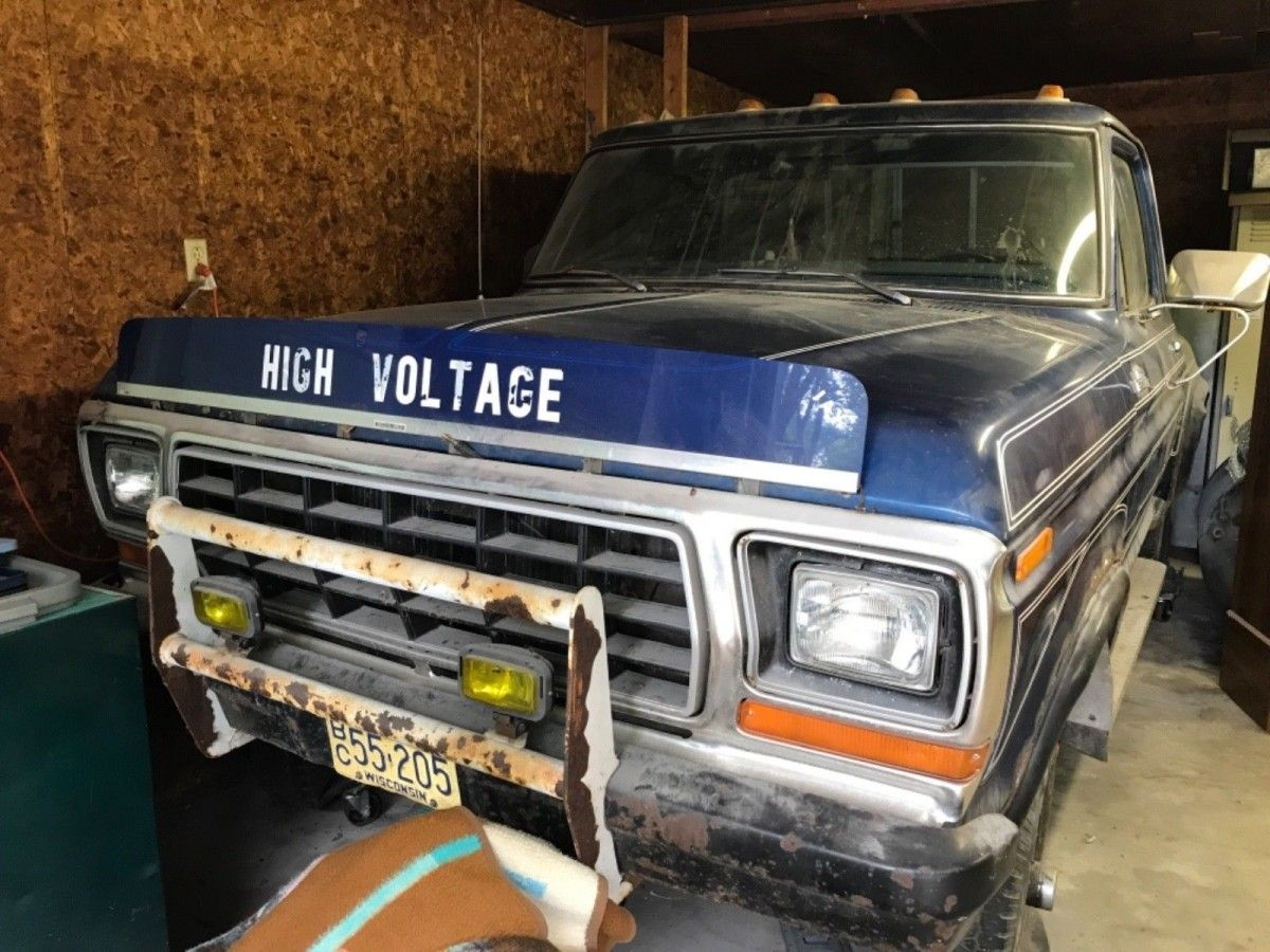 High voltage flareside 1970 ford f150 usa american ford